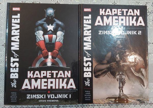Čarobna knjiga - Kapetan Amerika Zimski vojnik 1 i 2 komplet - Ed Brubaker