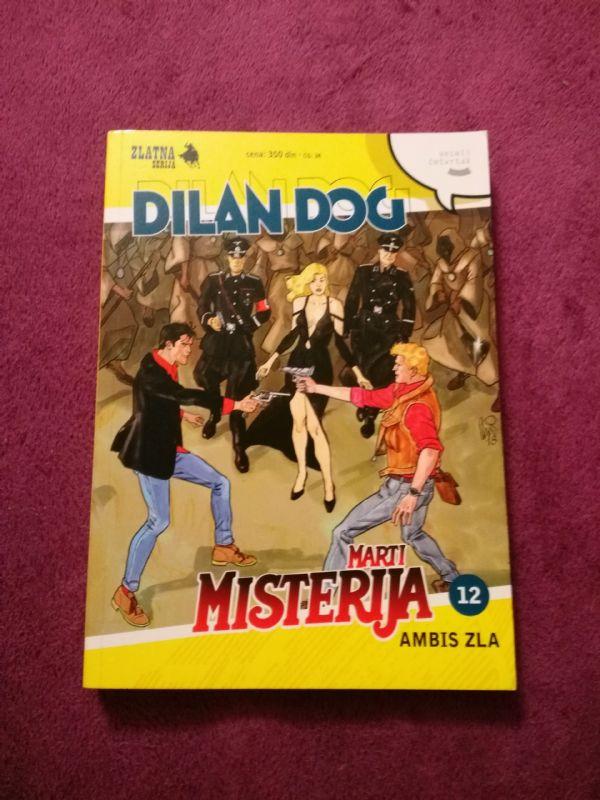 Dylan Dog i Marti Misterija Zlatna Serija br. 12 Ambis zla