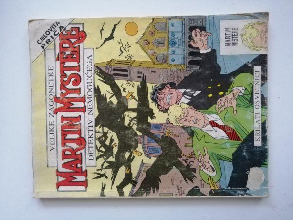 Martin Mystere 11 - Krilati osvetnik (Slobodna Dalmacija)