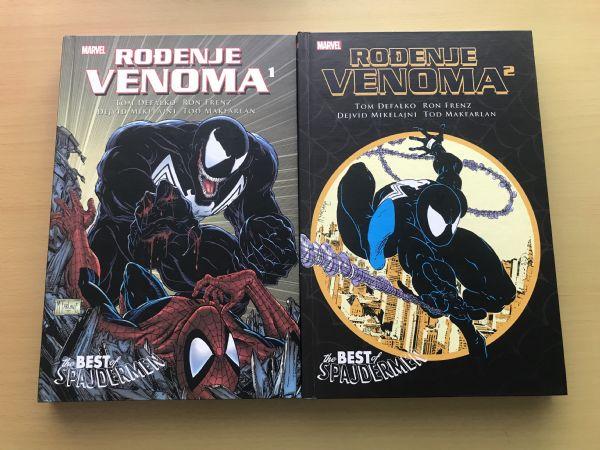 Rođenje Venoma 1, 2 — Best of Spajdermen — Čarobna knjiga