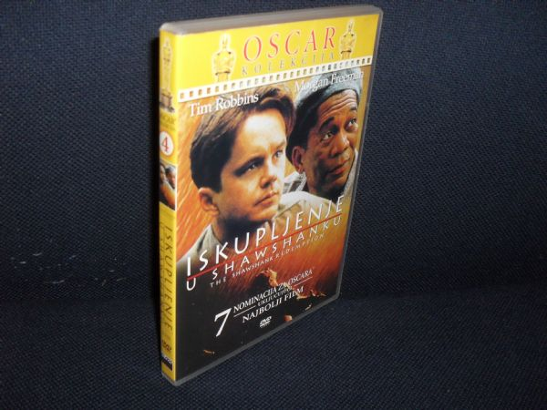 DVD ISKUPLJENJE U SHAWSHANKU, +5