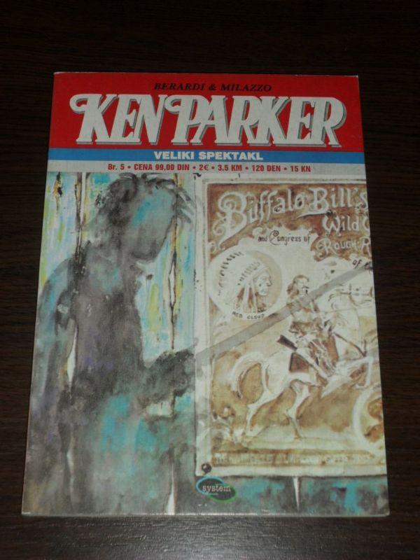 Ken Parker SC br. 5 Veliki spektakl (-5)