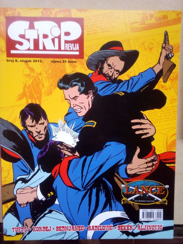 STRIP REVIJA BR. 8,   Stripforum