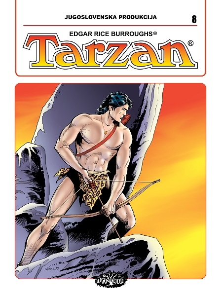 YU TARZAN br. 8 (Strip album HC )