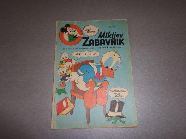 MIKIJEV ZABAVNIK Br 390  1982 GOD.  ( -4 )