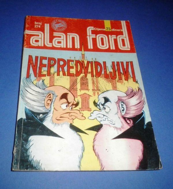 Alan Ford SSB 274: Nepredvidljivi
