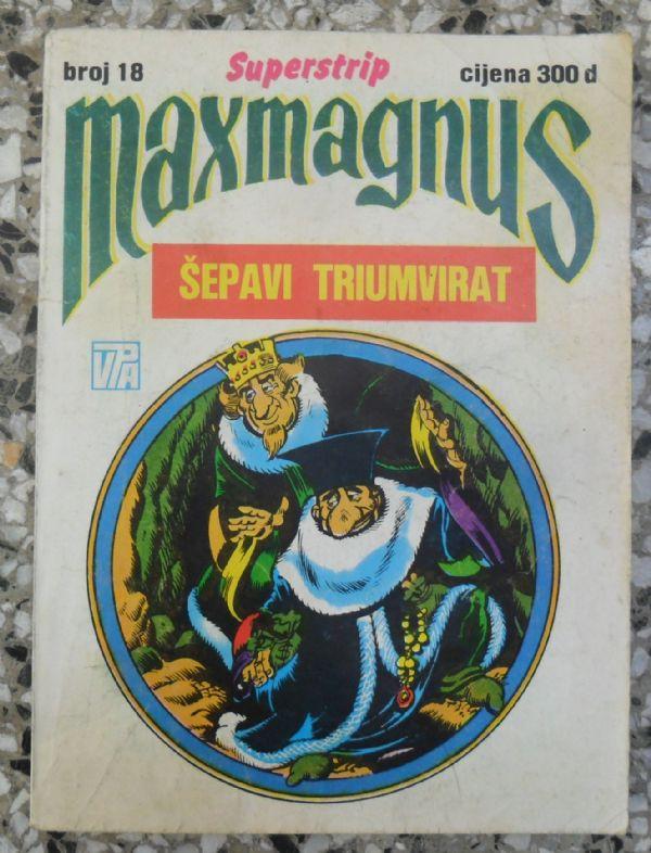 Maxmagnus Superstrip br. 18 - ŠEPAVI TRIUMVIRAT