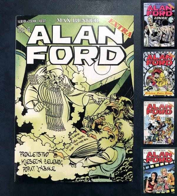 Alan Ford extra 5 BROJEVA: 2, 3, 4, 9, 20