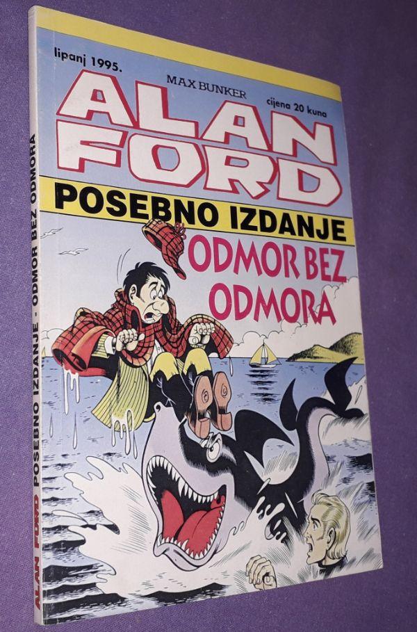 Alan Ford, posebno izdanje - Odmor bez odmora (P)