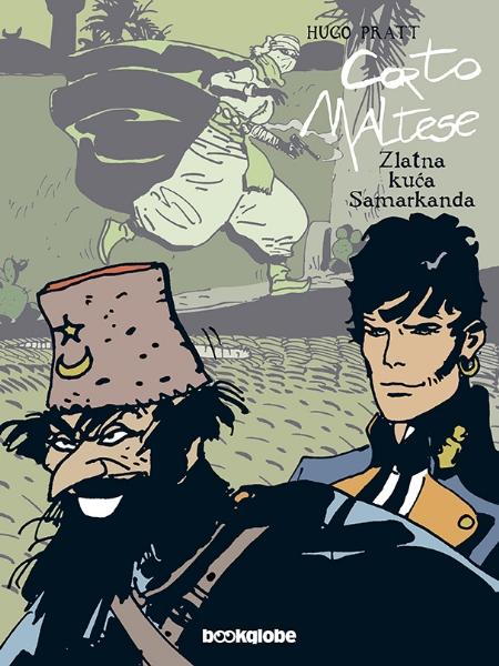 CORTO MALTESE - Zlatna kuća Samarkanda  (Strip album HC)