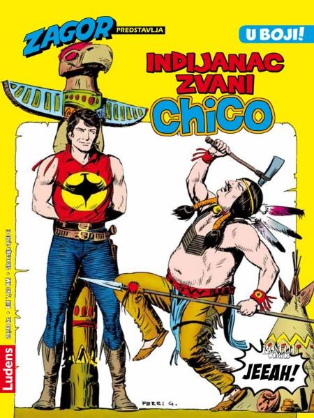 CHICO KOLOR br. 3. Indijanac zvani Chico