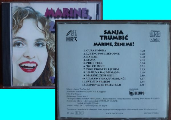 CD: Sanja Trumbić Marine, ženi me!