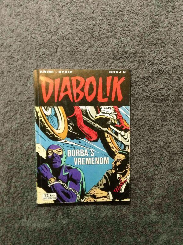Diabolik br. 2 SD Borba s vremenom (5-)