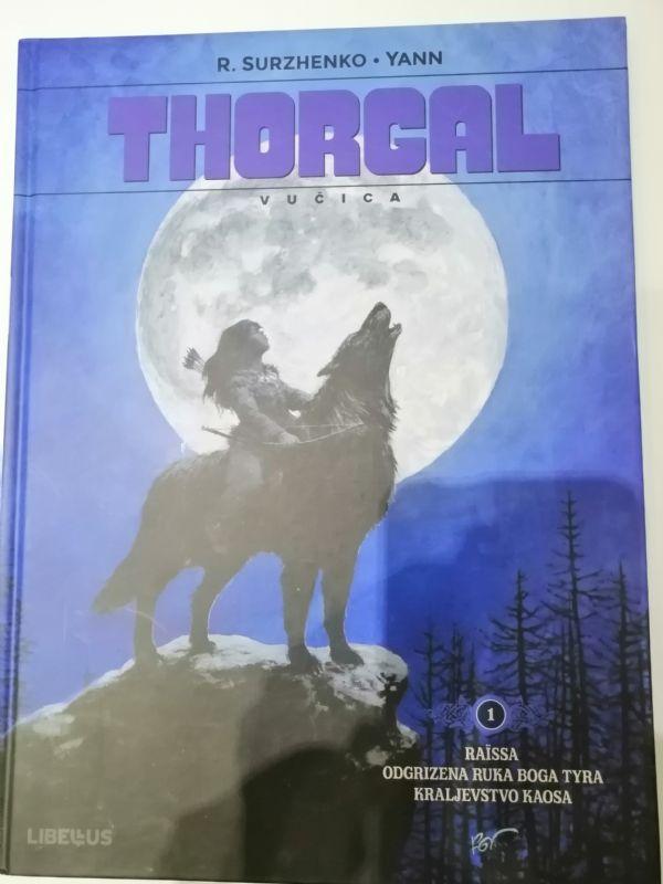 Thorgal vučica 1 - oštecen