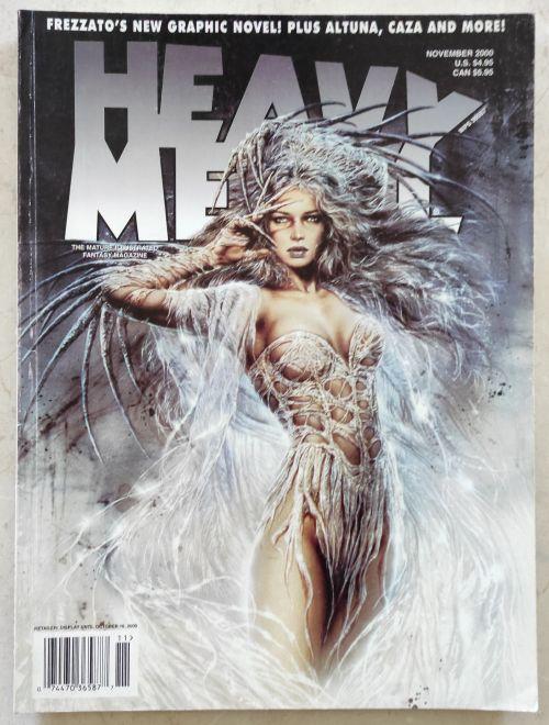 Heavy Metal Nov 2000