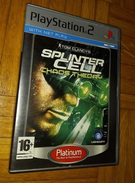 Splinter Cell Chaos theory Playstation 2 PS2