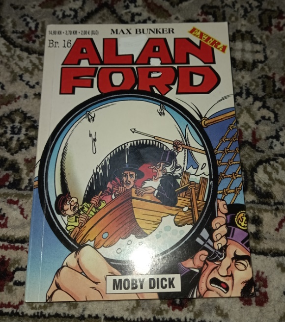 Alan Ford Extra br.16 Moby Dick