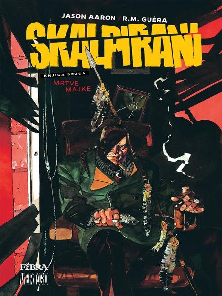 SKALPIRANI br. 2 - Fibra (Strip album HC)