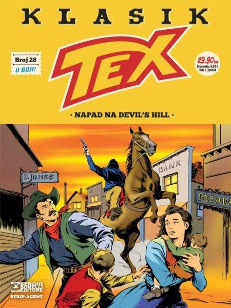 TEX KLASIK br. 28 - Strip agent