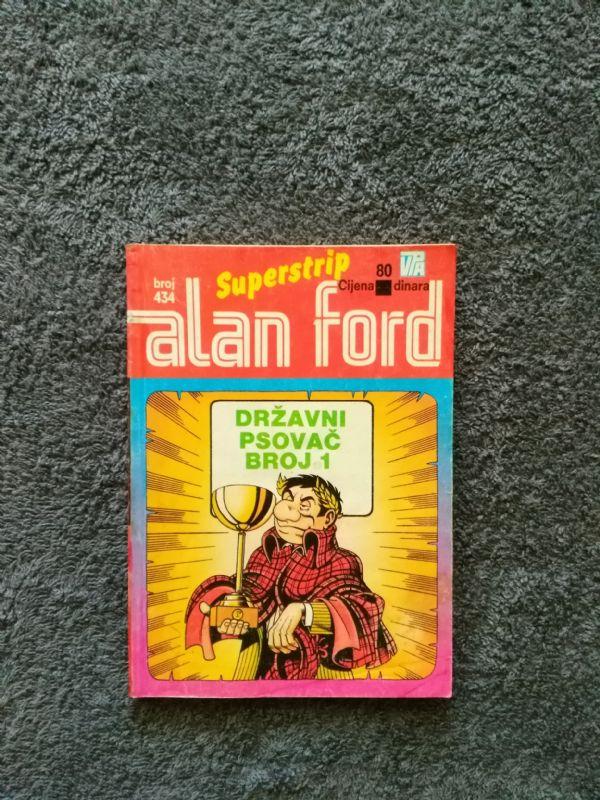 ALAN FORD Superstrip br. 434 Državni psovač broj 1 (4+)