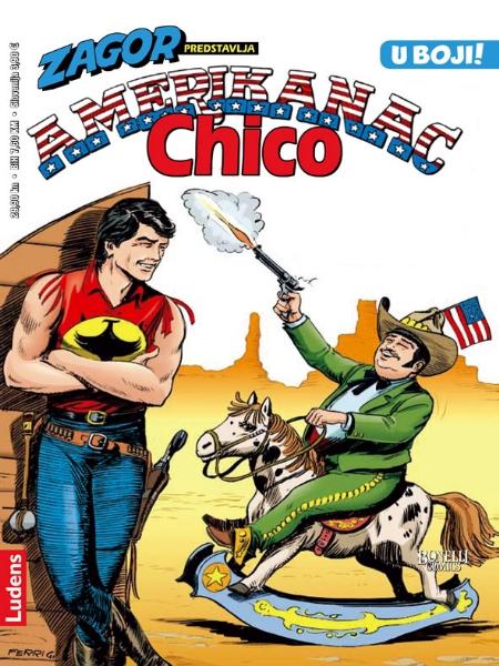 CHICO KOLOR br. 2. Amerikanac Chico