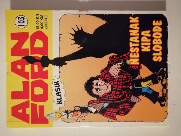 Alan Ford klasik 103 - Nestanak kipa Slobode (Strip agent)