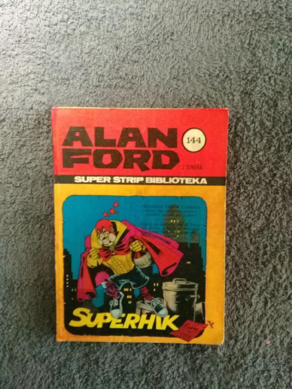 ALAN FORD Superstrip br. 25Superhik, kartonac (4+)