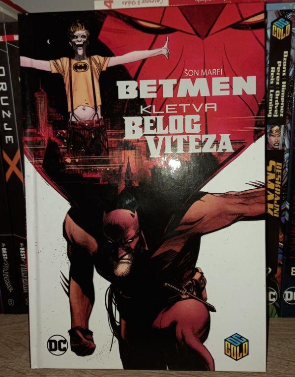 Dc Gold 25 Betmen: Kletva Belog viteza Čarobna knjiga