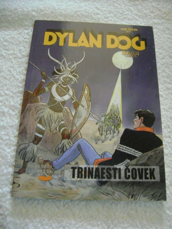 DYLAN DOG 66 - TRINAESTI ČOVEK - VESELI ČETVRTAK