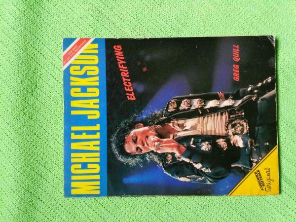 Michael Jackson Electrifying Greg Quill 1988