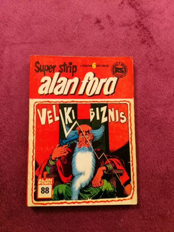 ALAN FORD Superstrip br. 88 - Veliki biznis