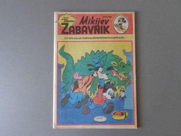 MIKIJEV ZABAVNIK Br 182  1978 GOD.  (  5 )