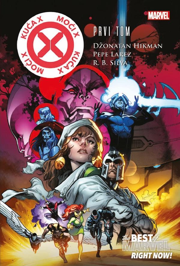 Best of Marvel Right Now 1 Kuća X – Moći X 1 Čarobna knjiga