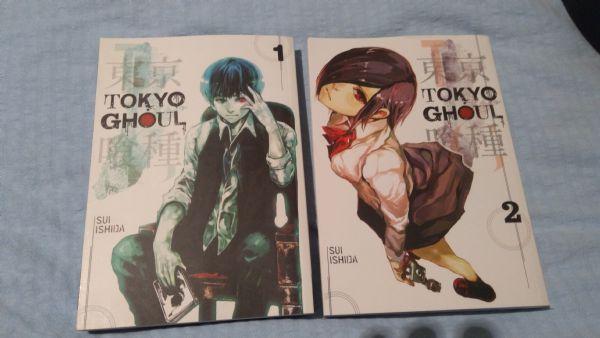 Tokyo Ghoul Volume 1 i 2