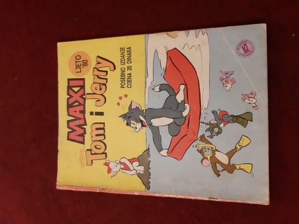 Maxi Tom i Jerry Maxi  Vrtirep ljeto '80