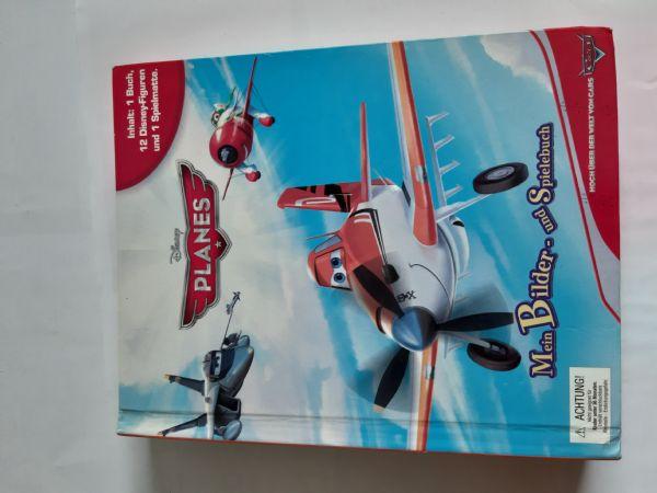 Društvena igra Planes Disney Mein Bilder und Spielenbuch