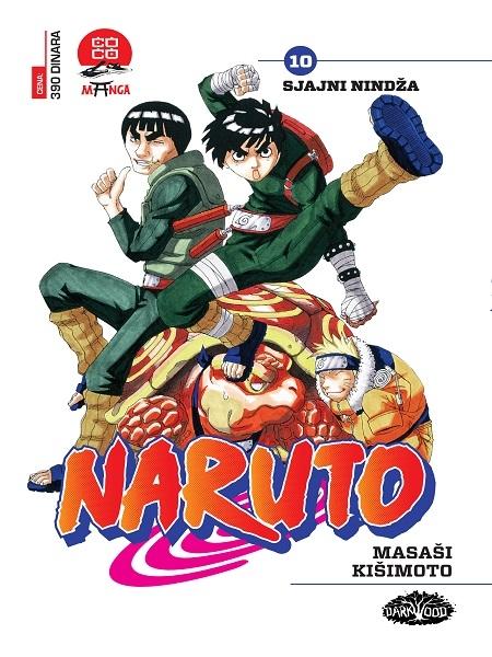 NARUTO  (Manga) br. 10