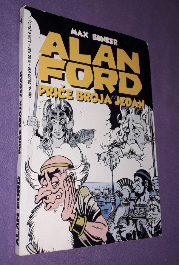 Alan Ford - Priče broja jedan (P)
