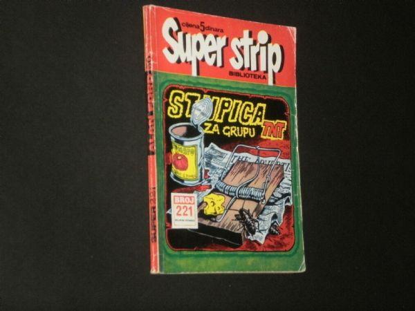 ALAN FORD 50 : STUPICA ZA GRUPU TNT  ( SUPER STRIP BIBLIOTEKA 221)