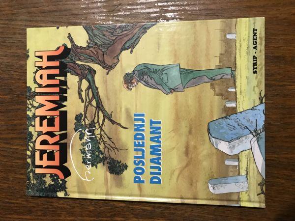 JEREMIAH - KNJIGA BR.24 -  STRIP U BOJI, TVRDE KORICE