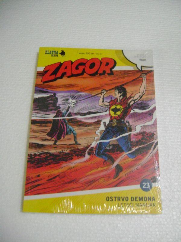 ZS 23 - OSTRVO DEMONA - ZAGOR