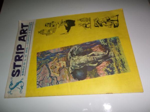 STRIP ART BROJ 12  prvo izdanje iz 1972 godine, veliki format