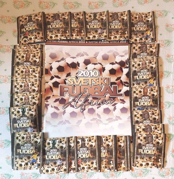 Svetski fudbal Africa 2010 album sa sličicama