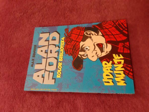 ALAN FORD Kolor biblioteka br.2 Udar munje B naslovnica