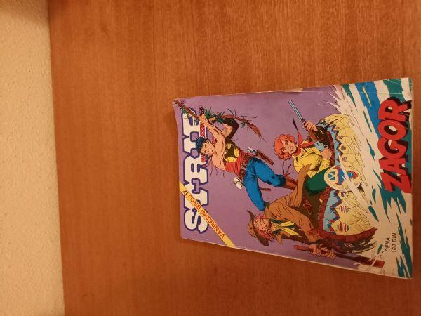 Zagor vanredni br.9 strip zabavnika Morske Hijene