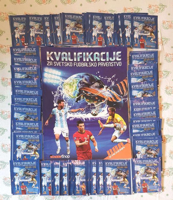 Kvalifikacije za svetsko fudbalsko prvenstvo album sa sličicama
