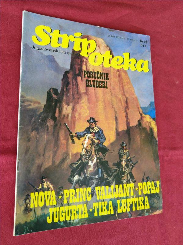 STRIPOTEKA br 610  • PORUČNIK BLUBERI •  Fort Navajo  (-4)