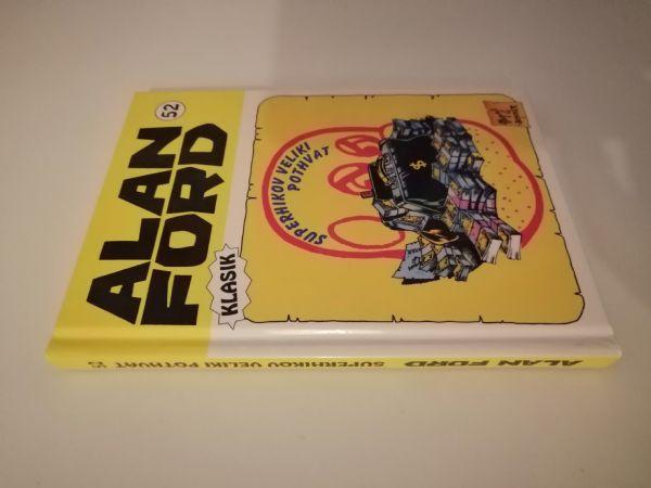 Alan Ford klasik 52 - Superhikov veliki pothvat (Strip agent) - Tvrde korice