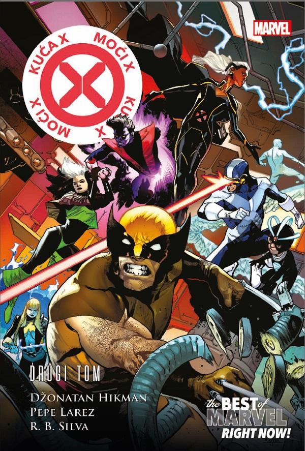 Best of Marvel Right Now 1 Kuća X – Moći X 2 Čarobna knjiga