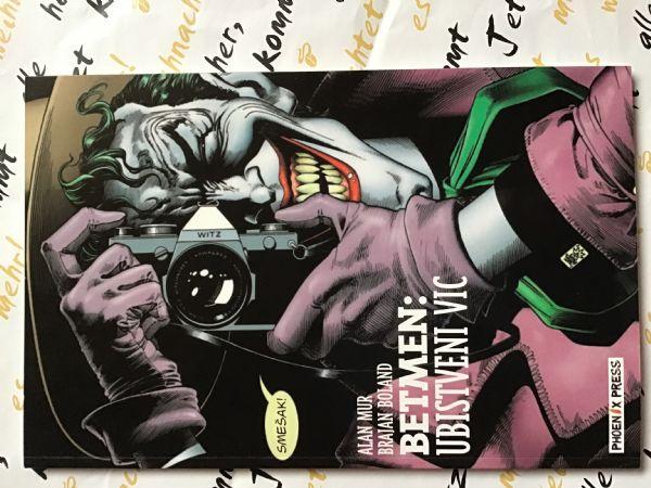 Alan Moore - Betmen - ubistveni vic